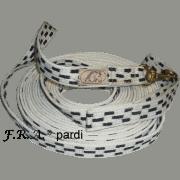 longe coton simple 28mm / 8,5 mtr. F.R.A.  pardi