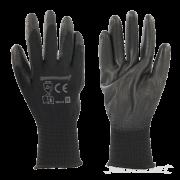gloves black PU
