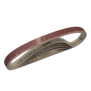 bandes abrasives, lot de 5