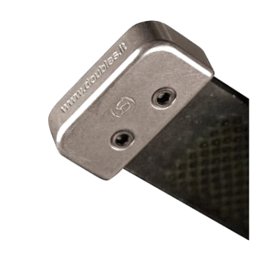 rasp end covers aluminium - double s